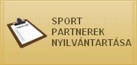 Sport partnerek nyilv�ntart�sa